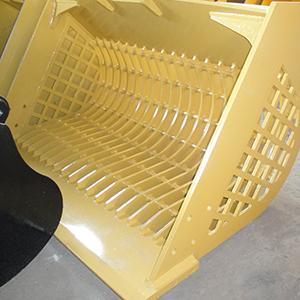 light yellow skeleton bucket