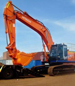 21ton Volvo excavtor with log grab, buckets