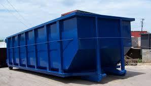 blue RO/RO bin